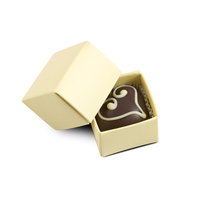 Geschenkpackung Choco One Ecru