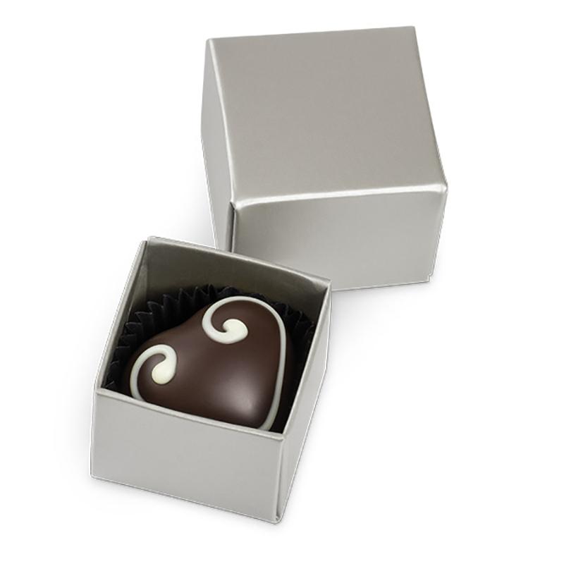 Geschenkpackung Choco One Silber