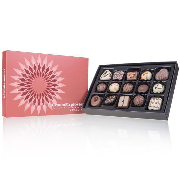 Geschenkpackung Pralinenmischung Choco Explosion Mini