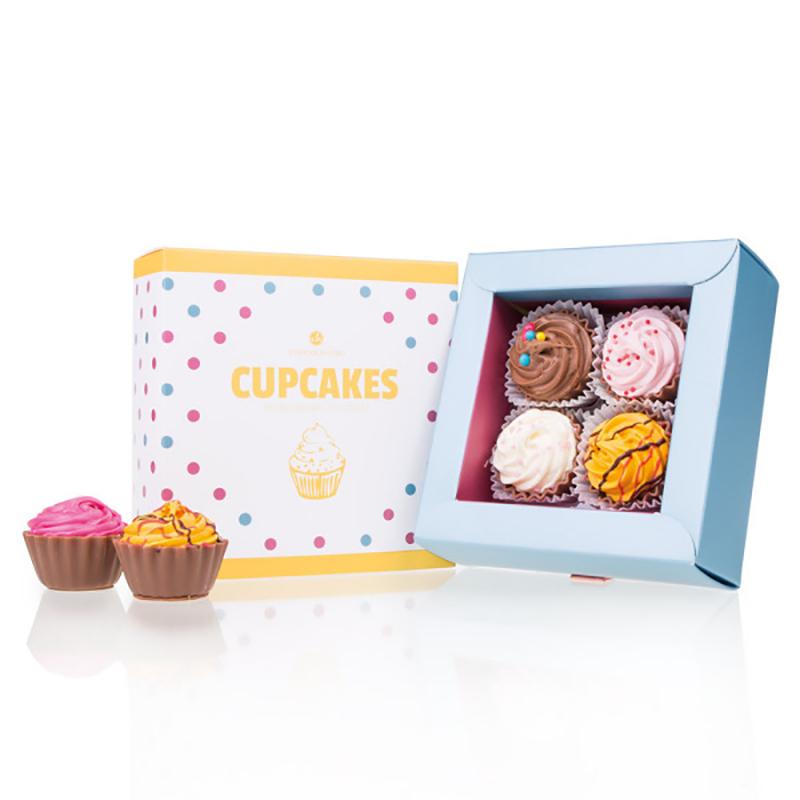 Geschenkpackung 4 American Cupcakes