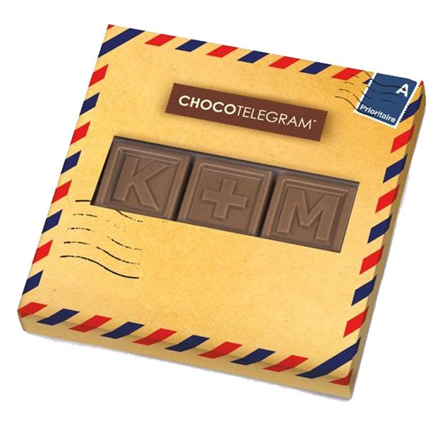 Choco Telegram 3 Vollmilch