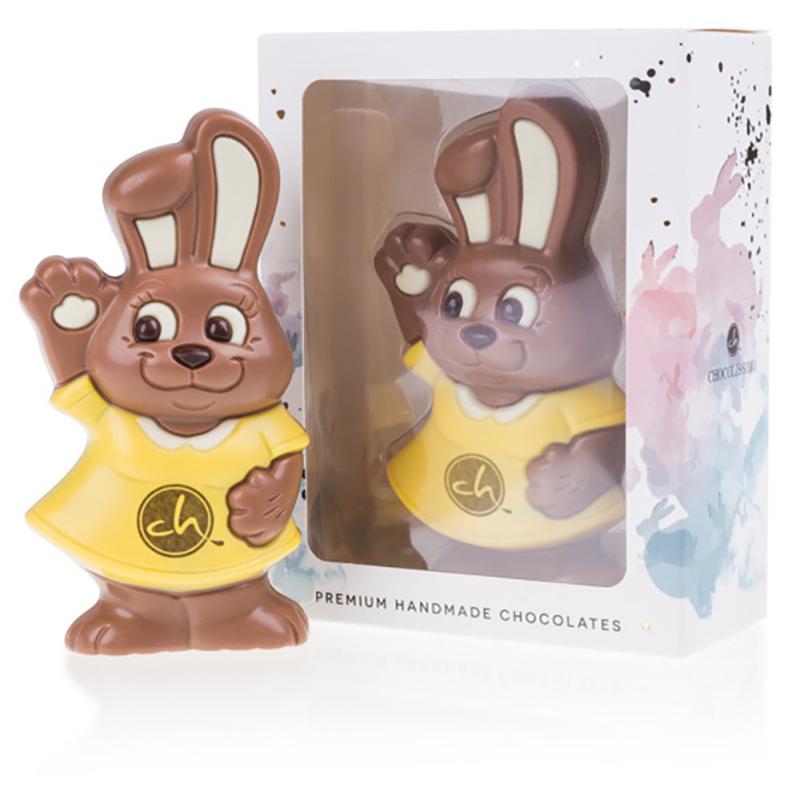 Geschenkpackung Merry Easter Bunny Yellow