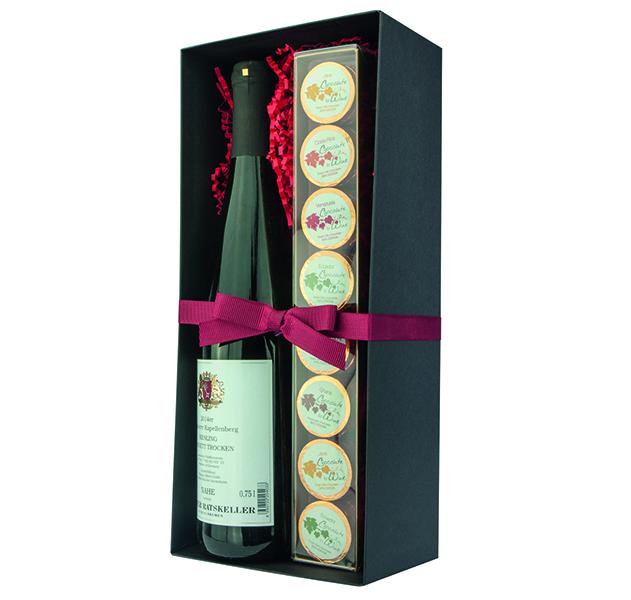 Präsentbox Rotwein + Wine Taler