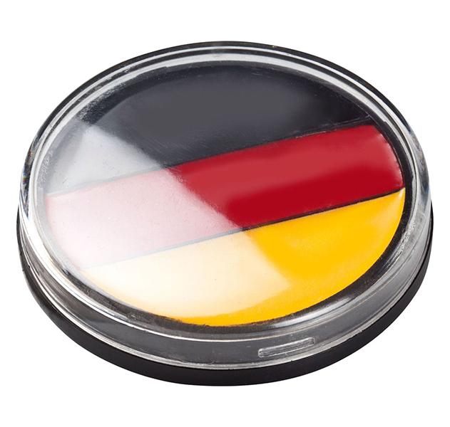 Fanschminke Round Deutschland