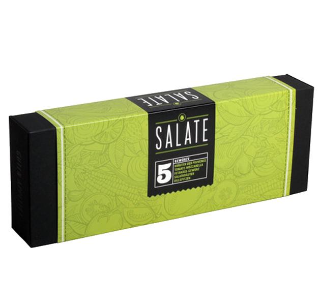 5er Gewürzset  Salate Exklusive