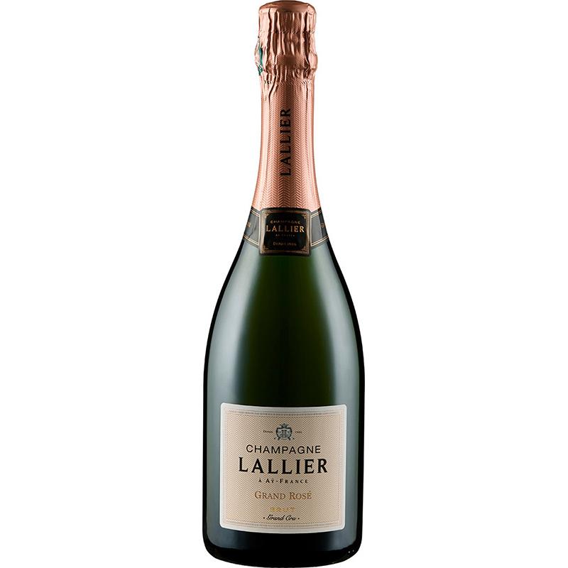 Champagne Lallier Grand Rose Grand Cru