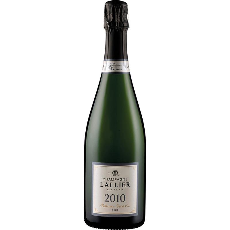 Champagne Lallier Millesime Grand Cru JG 2010