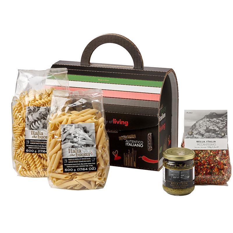 Schwarze Kochbox Paket