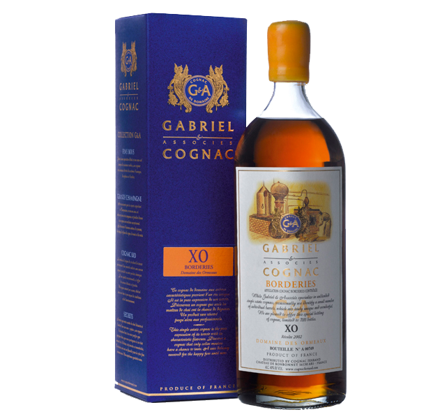 Cognac Gabriel & Associes XO Borderies - 43% vol.