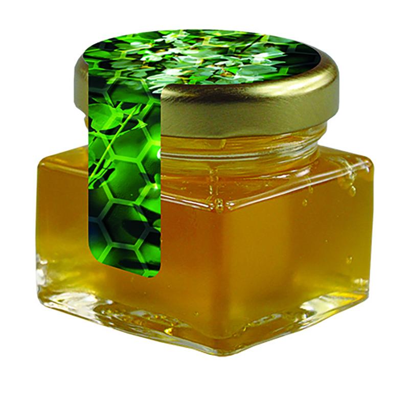 Bio Honig Acacia Glas mit Metalldeckel