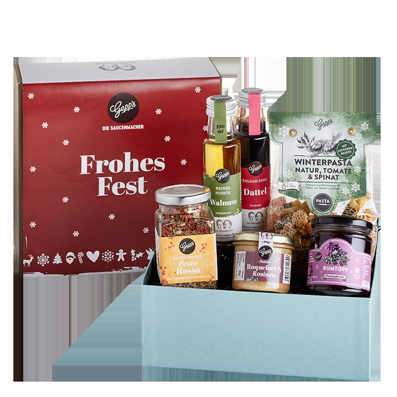Geschenkbox Frohes Fest