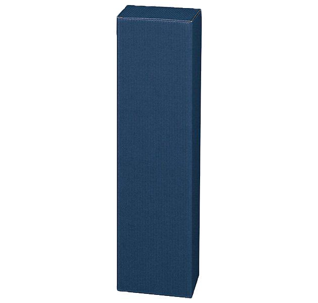 1er Faltschachtel Magnum Welle Modern Blau