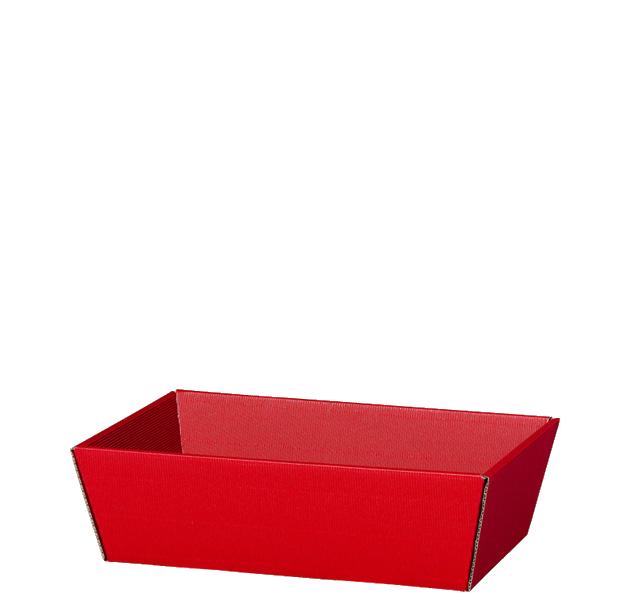 Präsentkorb Welle Modern Small Rot