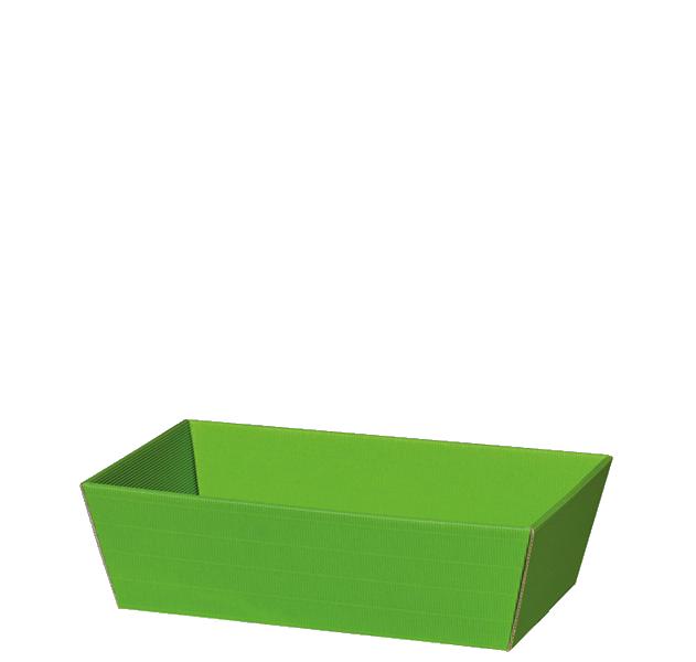 Präsentkorb Welle Modern Small Hellgrün
