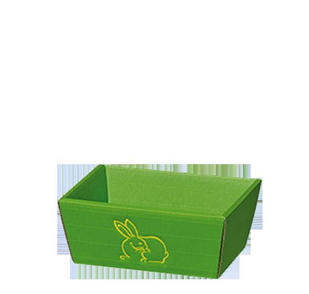 Präsentkorb Welle Modern Hase Hellgrün