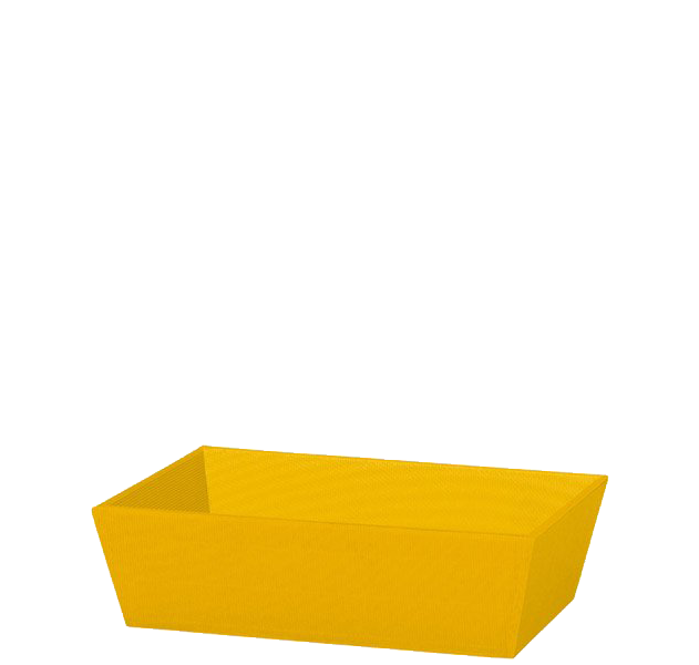 Präsentkorb Welle Modern Small Gelb