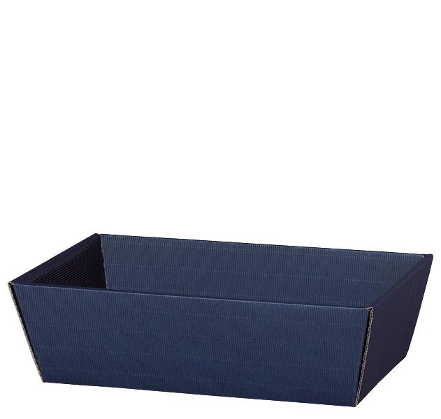 Präsentkorb Welle Modern Medium Blau