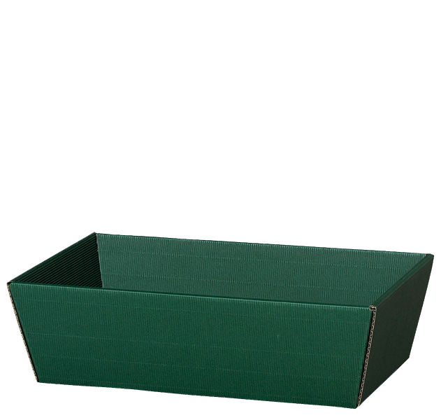 Präsentkorb Welle Modern Medium Grün