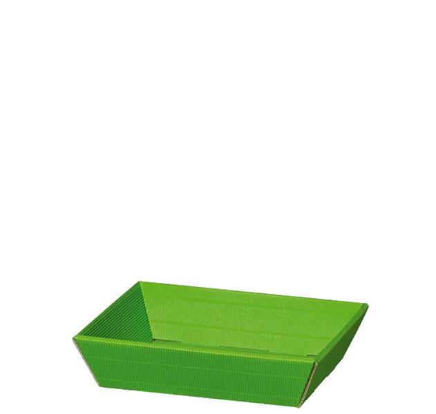 Präsentkorb Welle Modern Mini Hellgrün