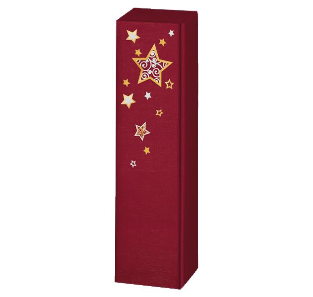 1er Präsentkarton Lino Weihnachtstraum Bordeaux