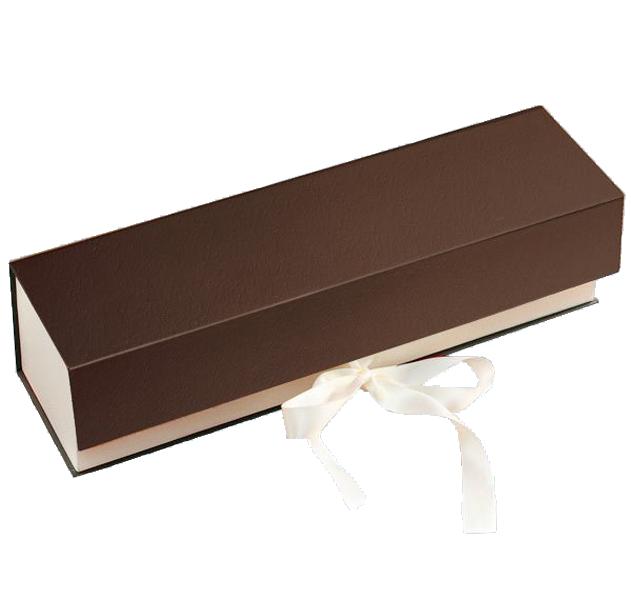 1er Schatulle Premium Dunkelbraun-Cream