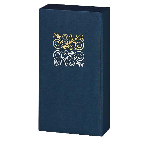 2er Präsentkarton Lino Opus Dunkelblau