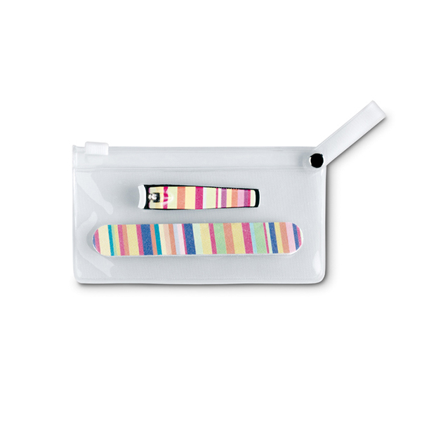 Maniküre-Set in PVC Tasche ARME