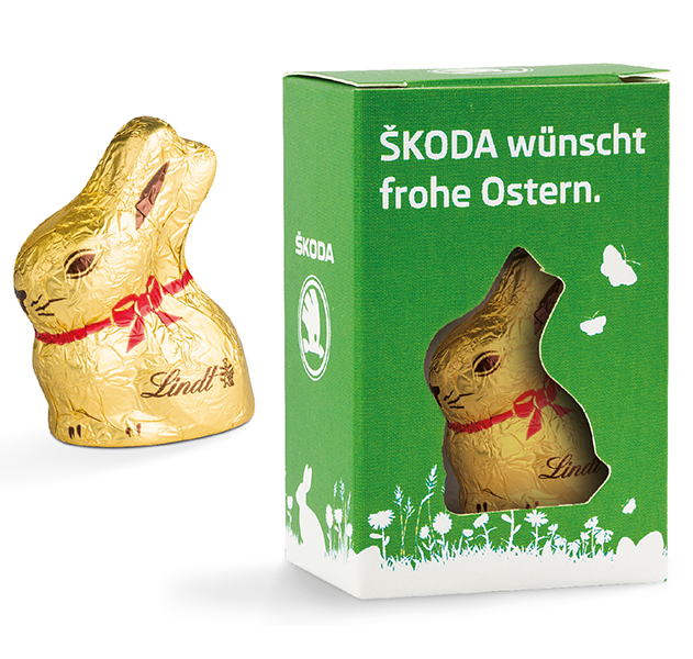 Osterbox Lindt Osterhase - 10 g.