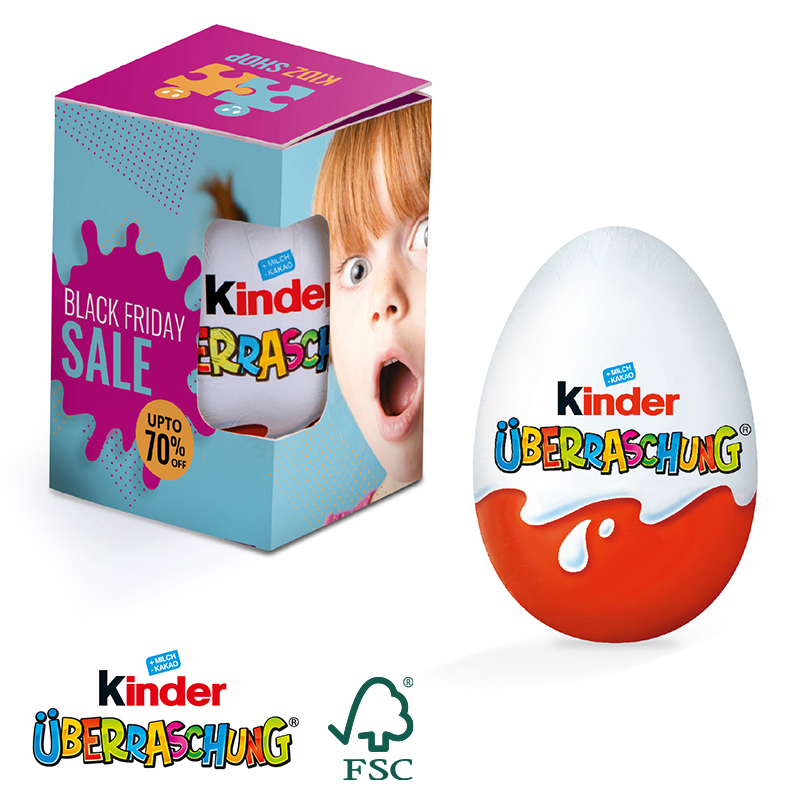 Kinder Überraschungsei Werbebox