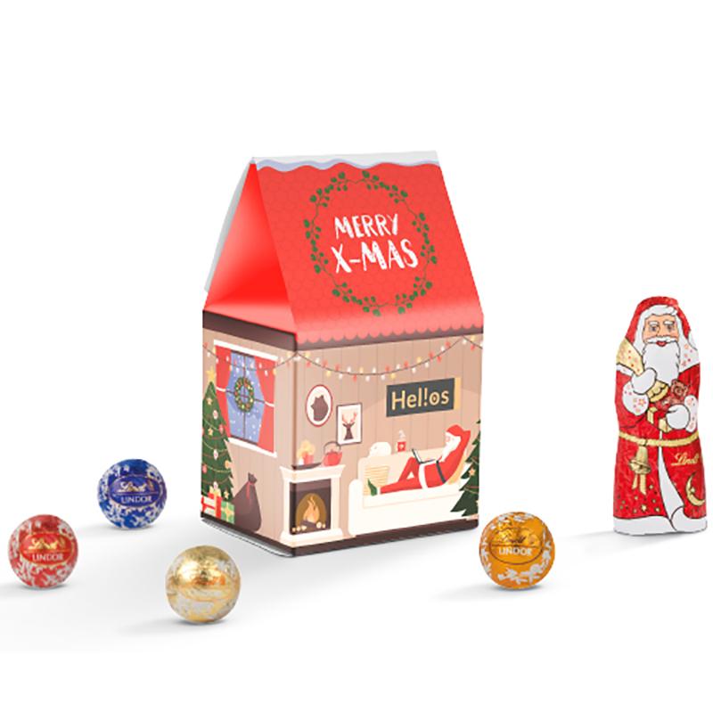 Standbodenbox Lindt Weihnachten