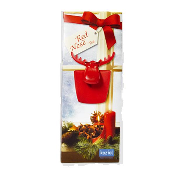 Geschenkset KOZIOL Red Nose Tea