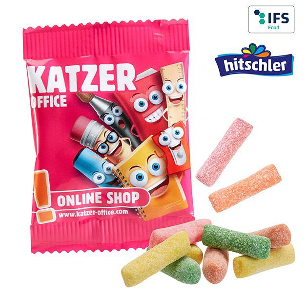 Minitüte Hitschies Kaubonbons Sauer Mix