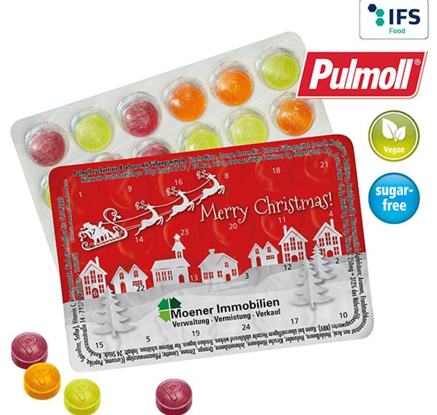 Adventskalender XS Pulmoll-Pastillen