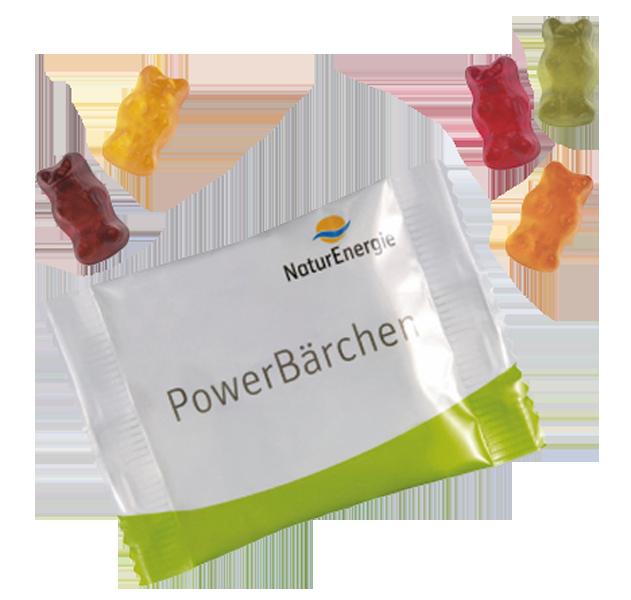 Minitüte Fruchtgummi Bio-Bärchen - 10 g.