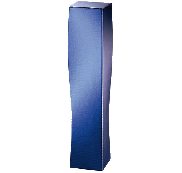 1er Faltschachtel Skultpur Blau