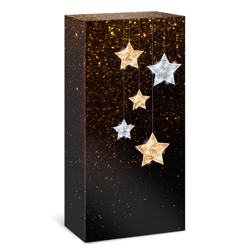 2er Faltschachtel Sternennacht
