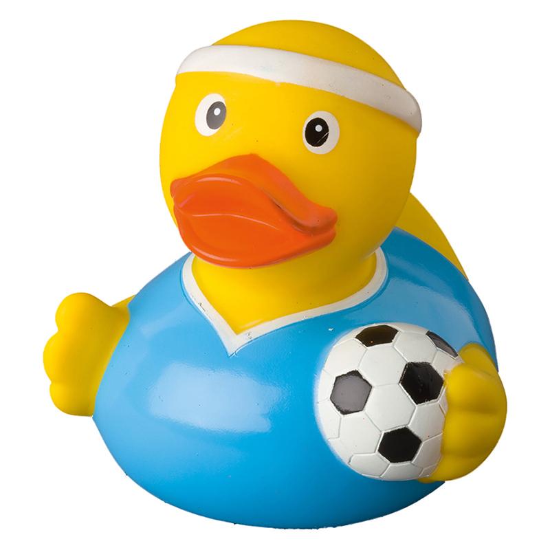 Schnabels® Quietsche-Ente Fußballer