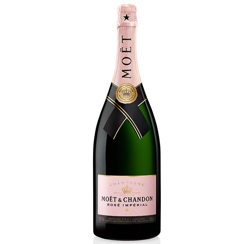 Champagne Moet Brut Imperial Rosé Magnum