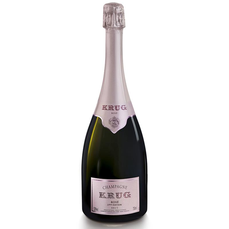 Champagne Krug Rosé Edition 24eme