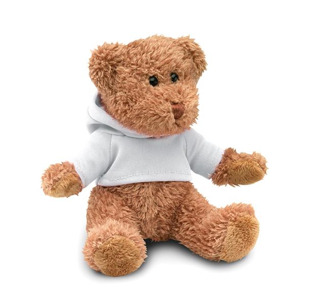 Teddybär mit Hoody JOHNNY