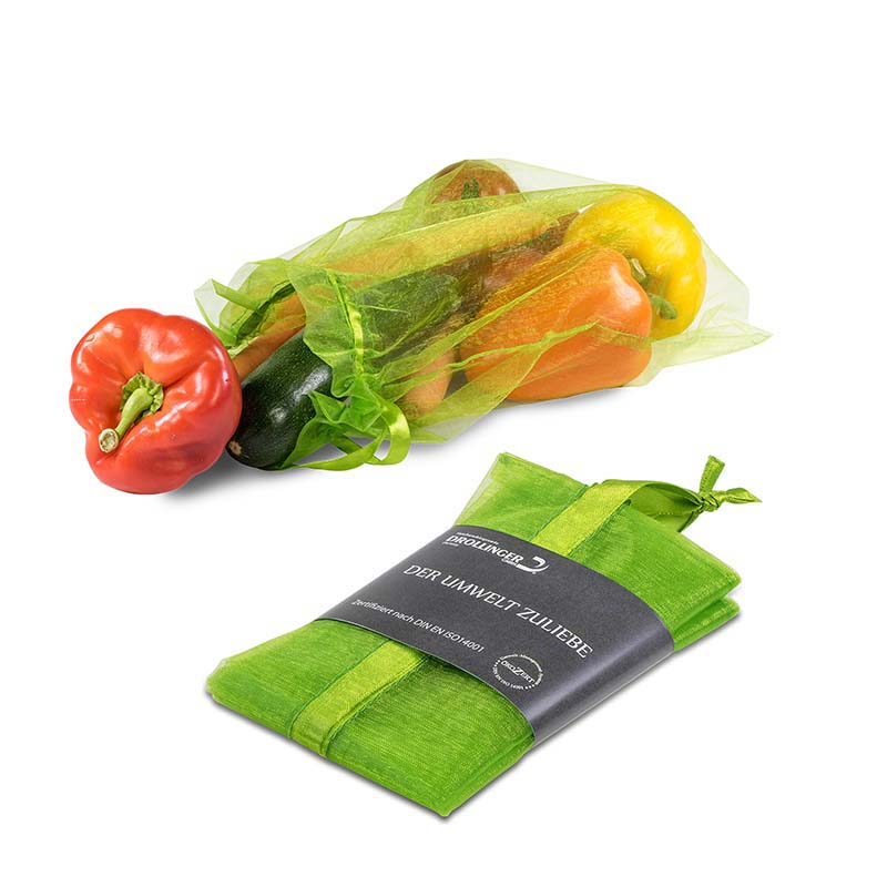 Obst- und Gemüsebeutel in Geschenkbox