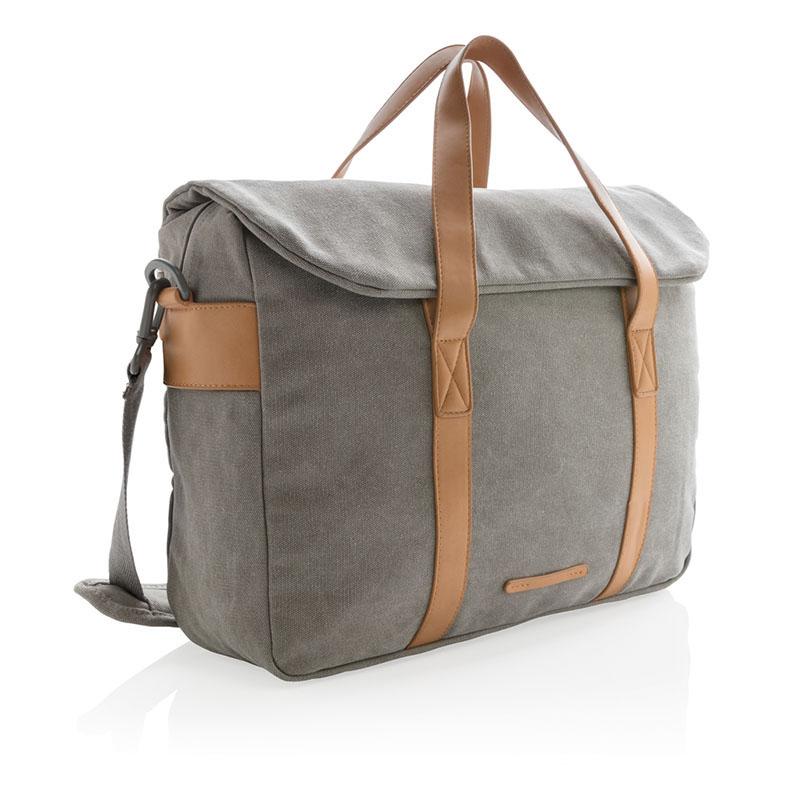 Canvas Laptop-Tasche PVC frei