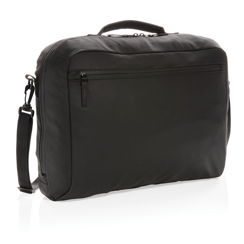 Fashion schwarze 15,6 Zoll Laptoptasche PVC-frei