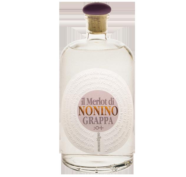 Grappa Nonino Il Merlot Monovitigno Vigneti - 41% vol.