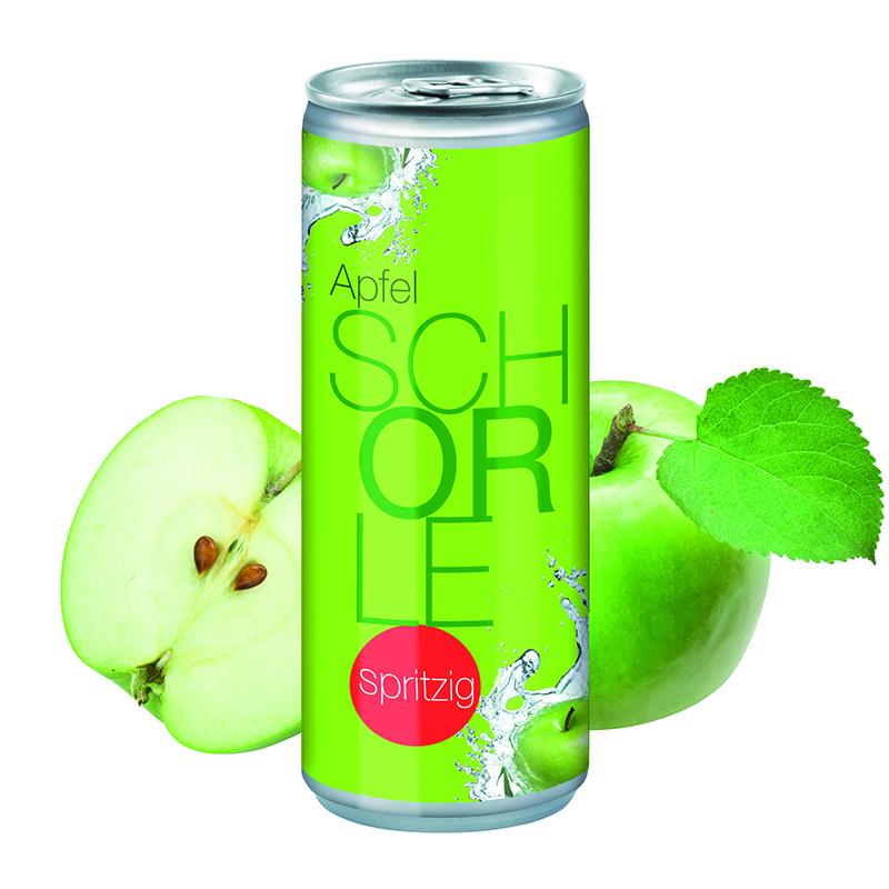 Apfelschorle Spritzig Body Label - 250 ml