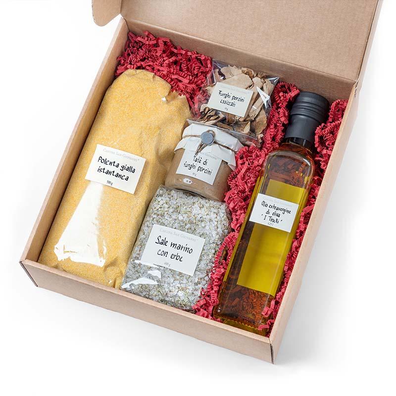 Olivenöl + Aceto Vino Paket