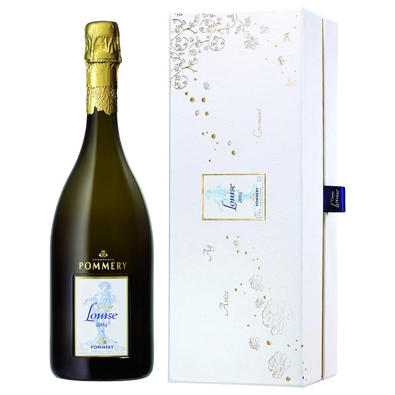 Champagne Pommery Cuvee Louise Vintage JG 2004 Coffret