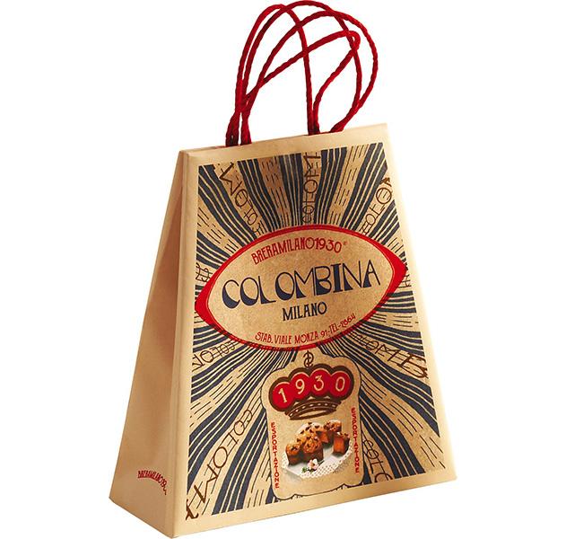 Osterkuchen Colomba Classica Tragetasche - 100 g.
