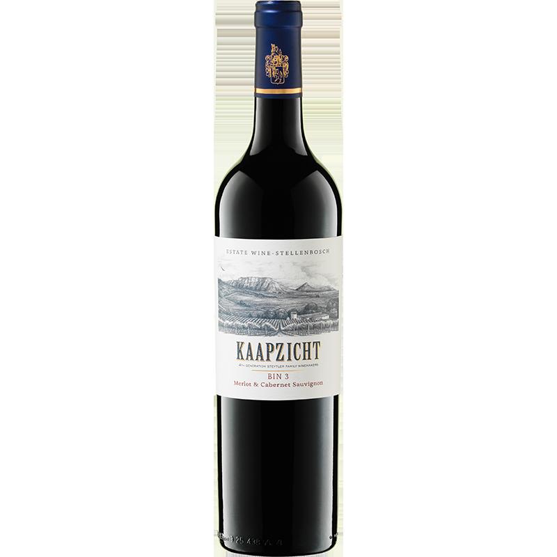 2017 Kaapzicht Bin 3 Merlot/Cabernet Sauvignon