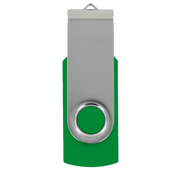 USB Stick TWISTER CLASSIC Dunkelgrün